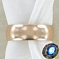 Облегчённое золотое обручальное кольцо 6 мм