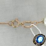 Золотой браслет с жемчугом