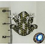 Кольцо в форме лягушки