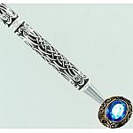 Ручка с покрытием серебром