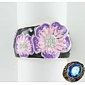 Серебряное кольцо с цветком