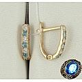 Золотые сережки из золота 585 пробы