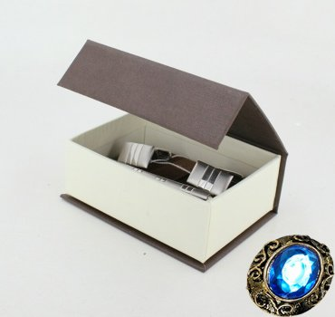 Комплект серебряный зажим для галстука и запонки